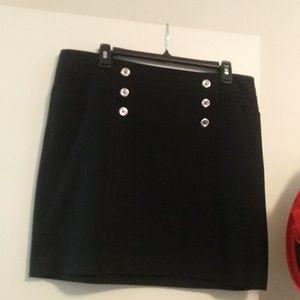 White House Black Market mini skirt black